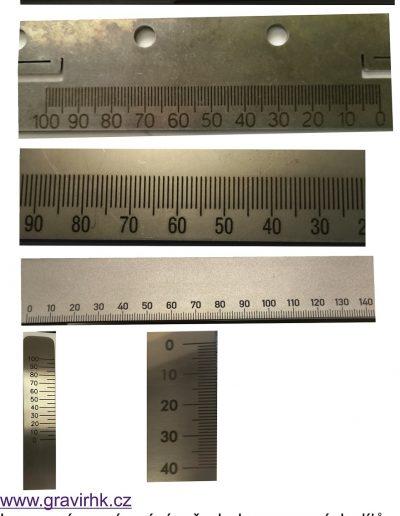 Laserové gravírování měrek do nerezu, ploché, šestihrany, čtyřhrany, kulatiny. Kvalita a rychlost zaručena.